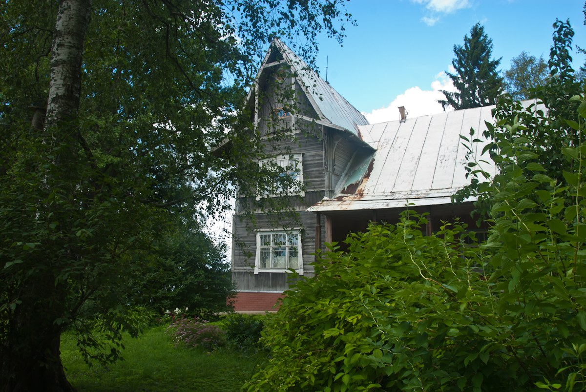 Вид дачи-музея с южной стороны. Автор фото: Вячеслав Степанов