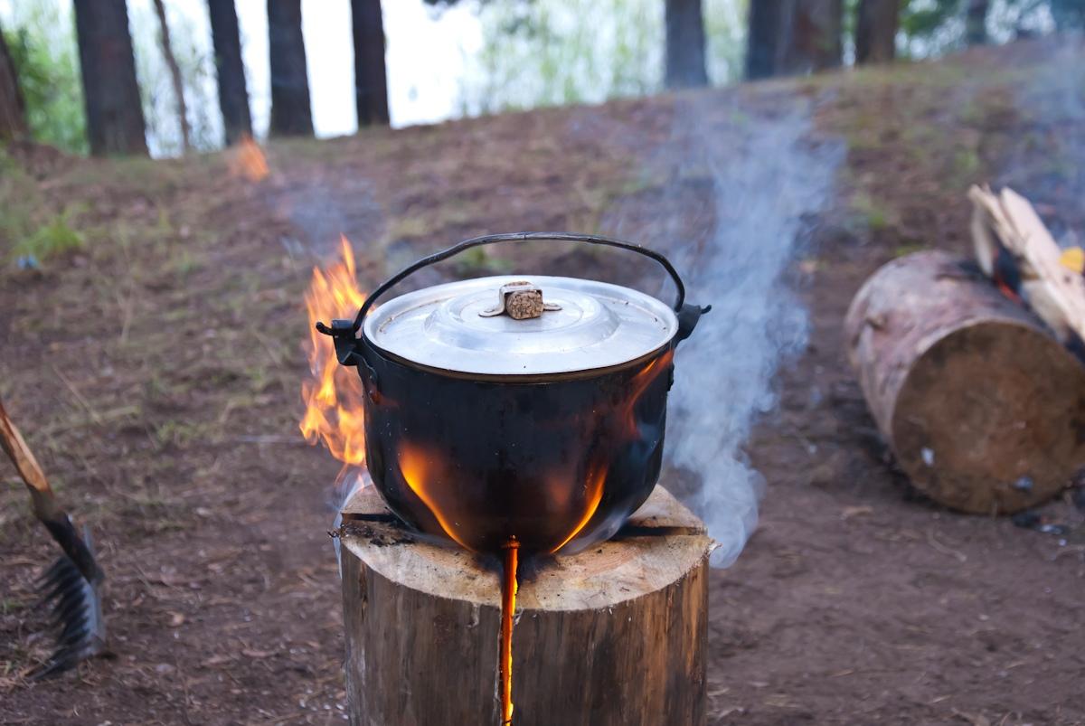 Финская свеча: примеры использования. Автор фото: Вячеслав Степанов