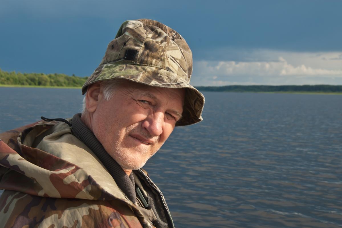 Саня - гроза удомельских крокодилов :-). Автор фото: Вячеслав Степанов