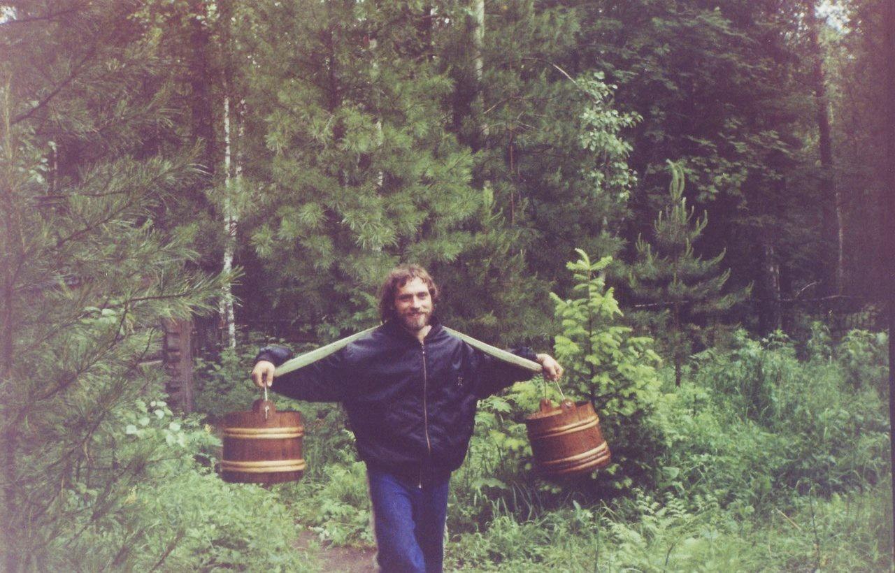 Игорь Кром, 1999 год. Фото из семейного архива