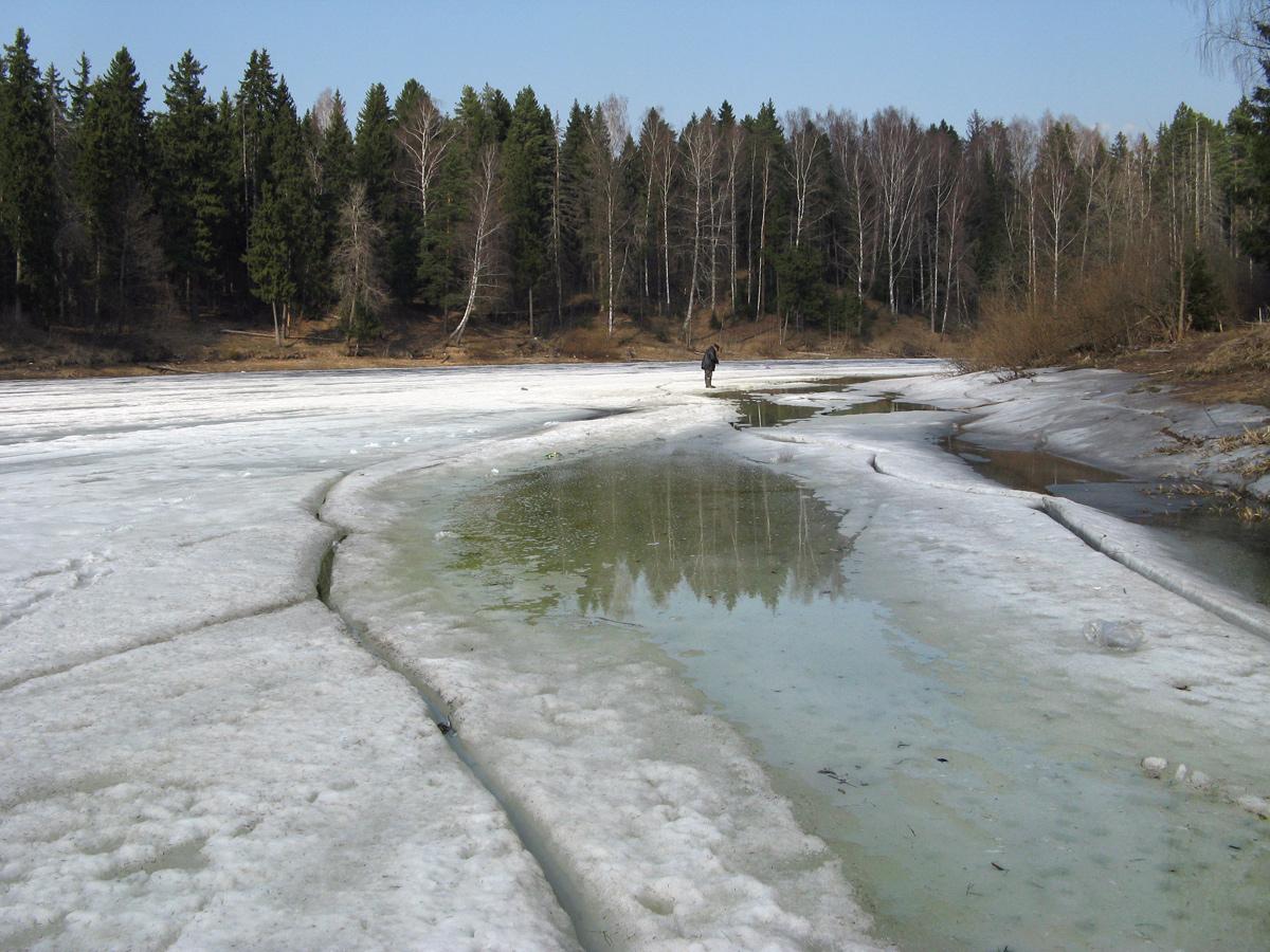 Последний лёд. Репортаж. Автор фото: Кудрявцева Татьяна