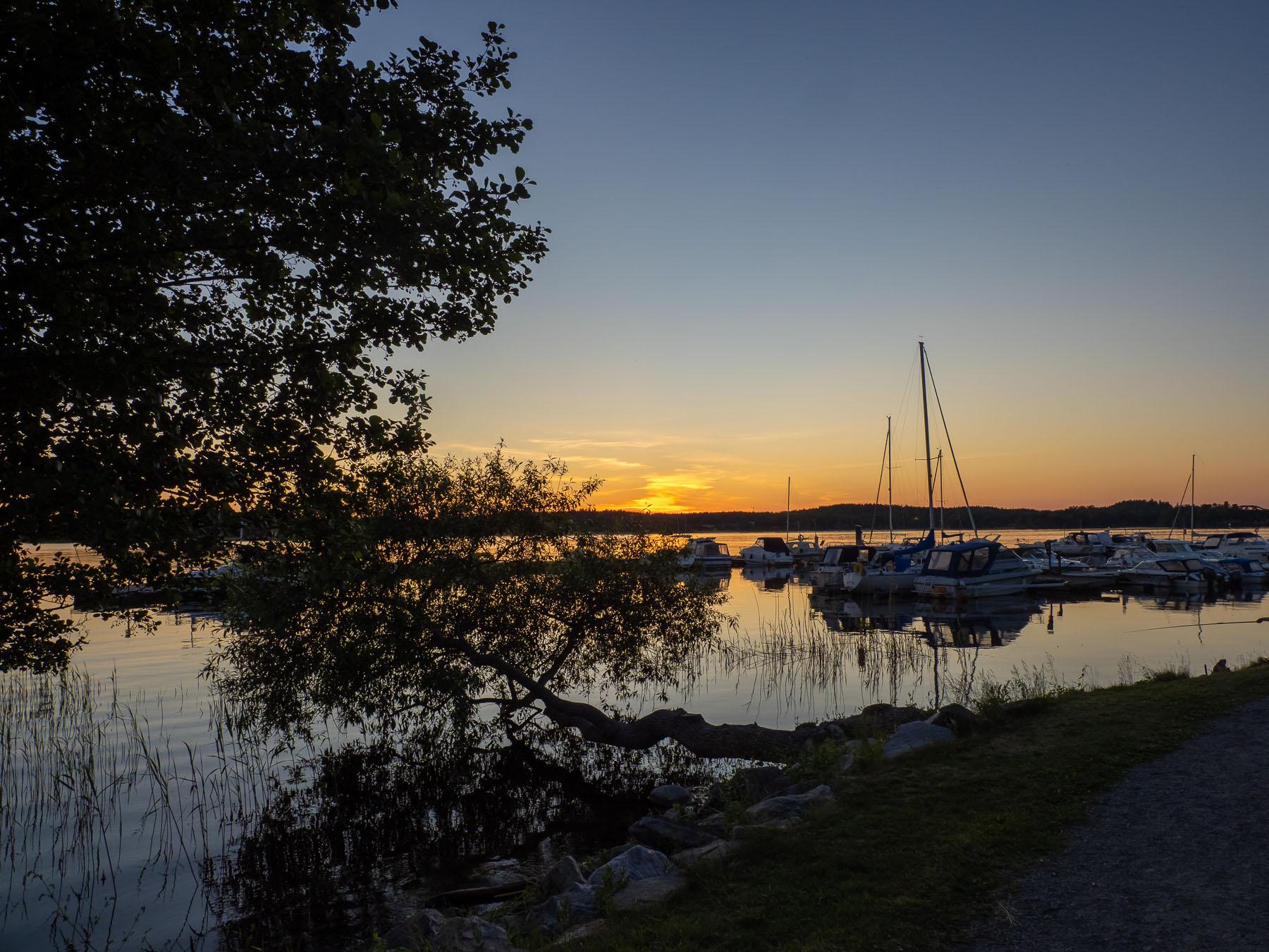 Белые ночи на озере Mälaren. Автор фото: Сутормина Марина